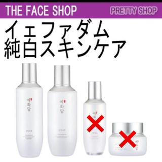 ザフェイスショップ(THE FACE SHOP)の12/24削除 4000→値下 フェイスショップ スキンケア セット(化粧水/ローション)
