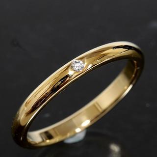ティファニー(Tiffany & Co.)のティファニー TIFFANY&CO. ダイヤ マリッジ リング 18号 K18(リング(指輪))