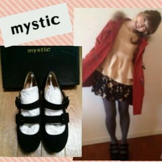 ミスティック(mystic)の【新品】mystic*桃着用シューズ♪(ハイヒール/パンプス)