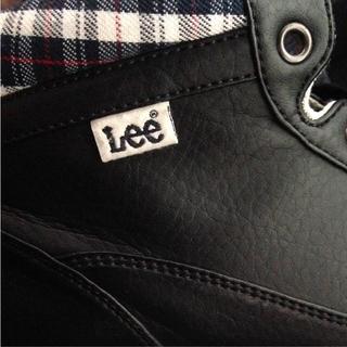 リー(Lee)のこーた様専用 Lee スニーカー 74001 ブラック(スニーカー)