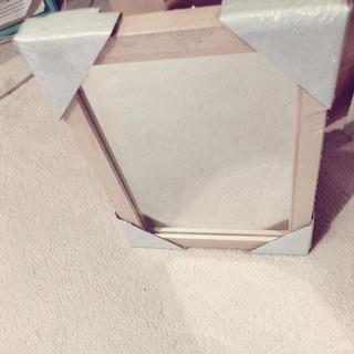 MUJI (無印良品) - 木枠 卓上ミラー
