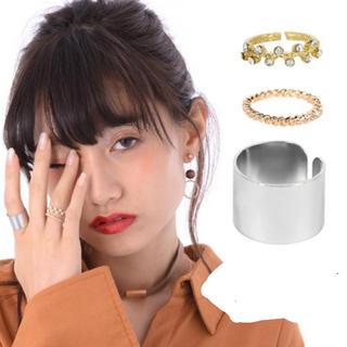 3個セット 指輪 リング 夢かわいい(リング(指輪))