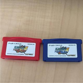 ゲームボーイアドバンス(ゲームボーイアドバンス)のゲームボーイアドバンス ロックマンエグゼ4 ブルームーン レッドサン(携帯用ゲームソフト)