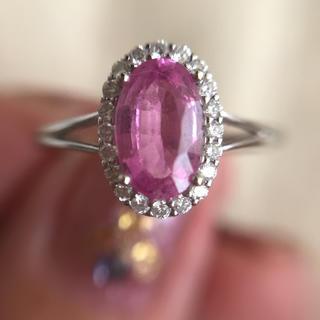 定価80万円!綺麗なピンクサファイアリング(リング(指輪))