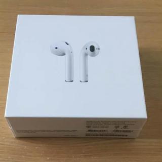 アップル(Apple)のairpods 新品 未開封 純正 正規品(ヘッドフォン/イヤフォン)