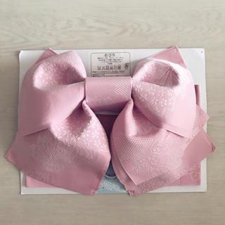 ☆新品☆ 作り帯 結び帯 ピンク(浴衣帯)