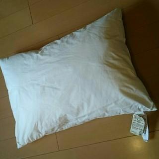 ムジルシリョウヒン(MUJI (無印良品))の無印良品♥ タグ付き まくら 43×63 ポリエチレンフィルム 枕(枕)