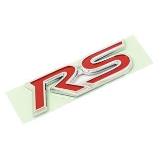 トヨタ(トヨタ)のRS エンブレム トヨタ純正 輸出仕様 縦 2.4cm x 横 8cm(車種別パーツ)