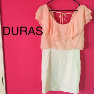 デュラス(DURAS)のDURAS ミニワンピース[新品・未着用](ミニワンピース)