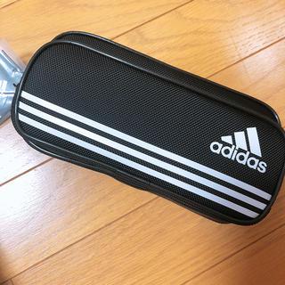 アディダス(adidas)の新品未使用!アディダス 筆箱 ペンケース 黒(ペンケース/筆箱)