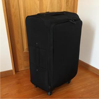 ムジルシリョウヒン(MUJI (無印良品))の無印 ソフト キャリーバッグ(スーツケース/キャリーバッグ)