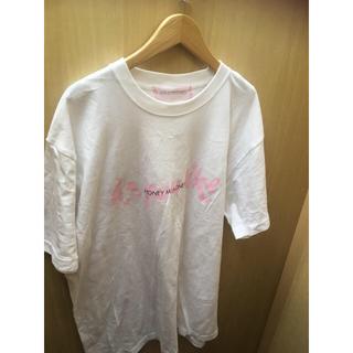 ハニーミーハニー(Honey mi Honey)のハニーミーハニー  ロゴTシャツ ホワイト(Tシャツ/カットソー(半袖/袖なし))