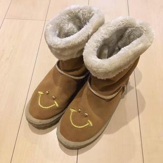 キャセリーニ(Casselini)のレトロガール カシータ ニコちゃんムートンブーツ キャセリーニ(ブーツ)