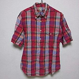 カトー(KATO`)のKATO' 半袖チェックシャツ(シャツ)