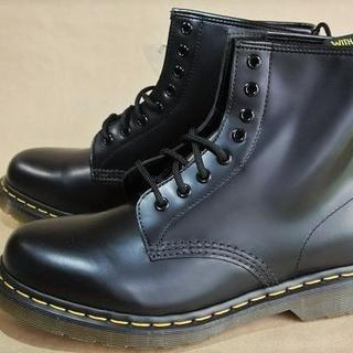 """ドクターマーチン(Dr.Martens)のDr.Martens 8""""編上ブーツ本革黒 No.1460 UK6.0 (CN)(ブーツ)"""