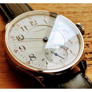ウォルサム(Waltham)のウォルサム★WALTHAM/アンティーク/裏スケルトン/手巻き腕時計/1920年(腕時計(アナログ))