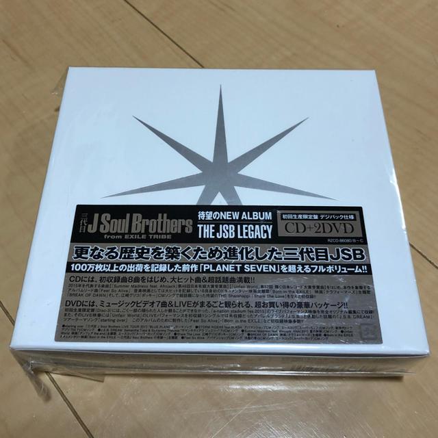三代目 J Soul Brothers(サンダイメジェイソウルブラザーズ)の三代目 J Soul Brothers  THE JSB LEGACY エンタメ/ホビーのCD(R&B/ソウル)の商品写真