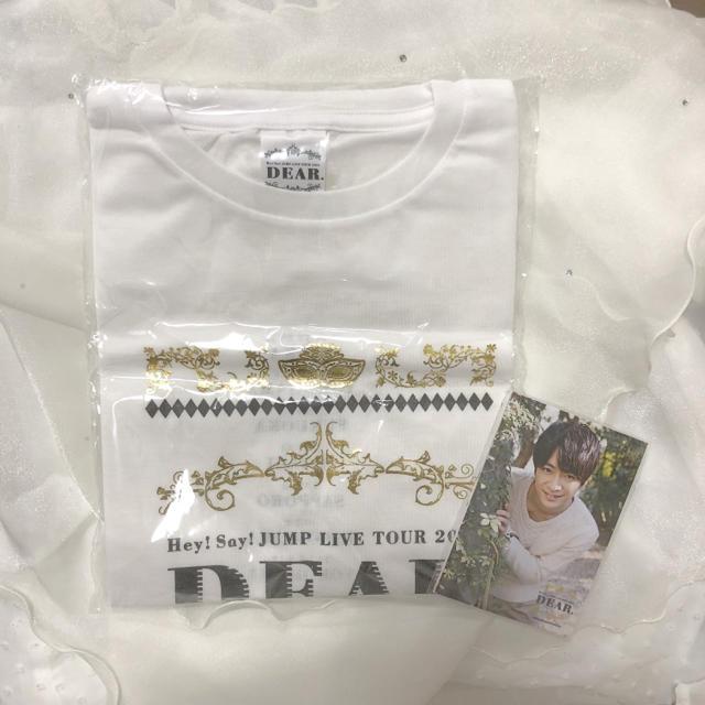 Hey! Say! JUMP(ヘイセイジャンプ)のHey! Say! JUMP 「Dear. Tシャツ」+ フォトセット メンズのトップス(Tシャツ/カットソー(半袖/袖なし))の商品写真