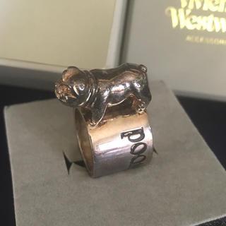 ヴィヴィアンウエストウッド(Vivienne Westwood)のVivienne Westwood ヴィヴィアン ブルドッグリング(リング(指輪))