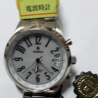 グランドール(GRANDEUR)の❪超特価❫ソーラー電波時計(腕時計(アナログ))