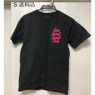 アンチ(ANTI)のASSC options black tee S(Tシャツ/カットソー(半袖/袖なし))