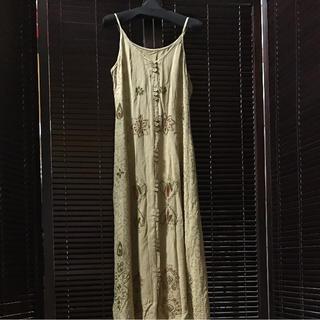 マライカ(MALAIKA)の刺繍 ロングワンピース(ロングワンピース/マキシワンピース)