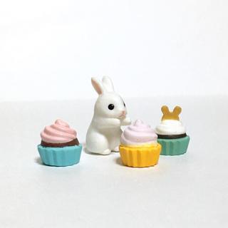 エポック(EPOCH)のうさぎパティシエ*カップケーキ(1個オマケ)(その他)