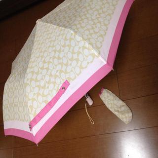 コーチ(COACH)の値下げ♡COACH 折りたたみ傘(傘)