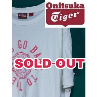 オニツカタイガー(Onitsuka Tiger)の⬛️genzaru様専用ページ⬛️オニヅカタイガー ビックロゴTシャツ Lサイズ(Tシャツ/カットソー(半袖/袖なし))