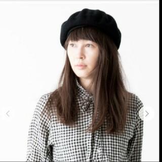 ネストローブ(nest Robe)のネストローブオンラインショップ購入。MACKIEベレー帽。(ハンチング/ベレー帽)