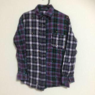ジュエティ(jouetie)のjouetie 💫 チェックシャツ(ポロシャツ)