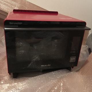 シャープ(SHARP)の★新品未使用★ SHARP ヘルシオ AX-XW400-R(レッド)  レンジ(電子レンジ)