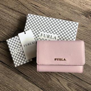 e8f4a8a84ac0 フルラ(Furla)の新作 フルラ 大人気♡ コンパクト 三つ折り財布♡ カメリア ピンク