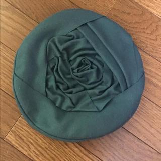アンアナザーアンジェラス(an another angelus)の薔薇ベレー帽🌹(ハンチング/ベレー帽)