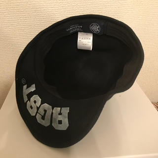 アゲインスト(AGAINST)のAGAINST キャップ 帽子 黒(キャップ)
