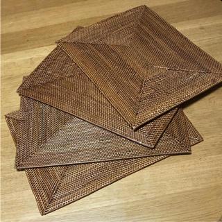 ムジルシリョウヒン(MUJI (無印良品))のケタック 無印良品 ランチョンマット  4枚(テーブル用品)