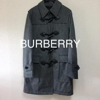 バーバリーブラックレーベル(BURBERRY BLACK LABEL)の美品 バーバリーブラックレーベル ロング ダッフルコート ビジネスにも◎ M(ダッフルコート)
