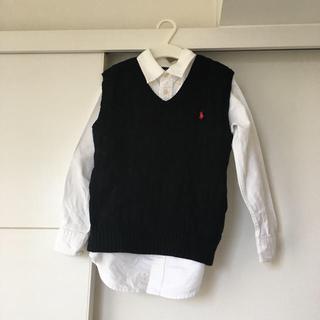 ポロラルフローレン(POLO RALPH LAUREN)のシャツとベスト お受験 ラルフローレン 120(ドレス/フォーマル)