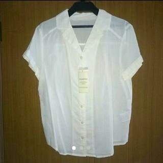 エージープラス(a.g.plus)の襟付きシャツ(シャツ/ブラウス(半袖/袖なし))