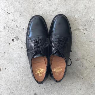 サンダース・レディース・female plain toe shoe