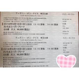 ディズニー(Disney)のディズニーオンアイス 埼玉公演(ミュージカル)