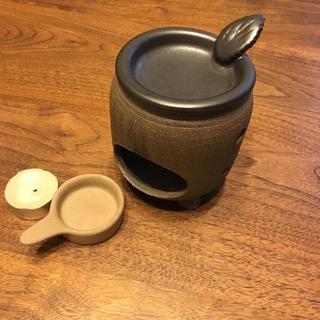 ムジルシリョウヒン(MUJI (無印良品))の茶香炉   アロマテラピー アロマポット(お香/香炉)