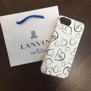 ランバンオンブルー(LANVIN en Bleu)のランバンオンブルー スマホ ケース iphone6 7 8 (iPhoneケース)
