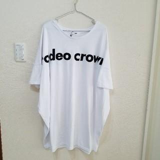 ロデオクラウンズ(RODEO CROWNS)のロデオクラウンズ 新品 ビッグ Tシャツ ワンピ(Tシャツ(半袖/袖なし))