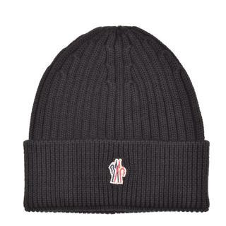 モンクレール(MONCLER)のMONCLER モンクレール グルノーブル ニットキャップ 帽子(ニット帽/ビーニー)