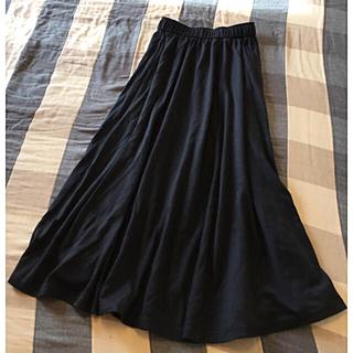 ビーシービージーマックスアズリア(BCBGMAXAZRIA)のフレアマキシスカート 状態良好(ロングスカート)