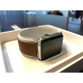 アップルウォッチ(Apple Watch)のApple watch 38mm ステンレス モダンバックル付き(腕時計(デジタル))
