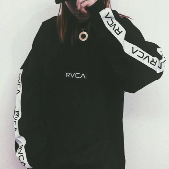 rvca rvca ロンt 新作 ブラック ホワイトの通販 by まぁー s shop