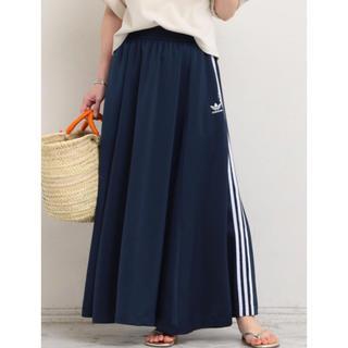 アディダス(adidas)のadidas originals アディダスオリジナルス ロングスカート(ロングスカート)
