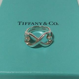 ティファニー(Tiffany & Co.)のTIFFANY ティファニー リング ダブルラビングハートリング 指輪  (リング(指輪))
